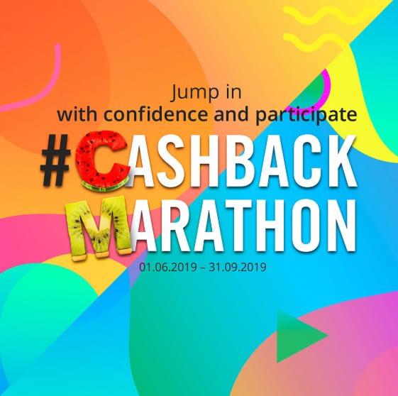 Cashback Marathon c'est parti !