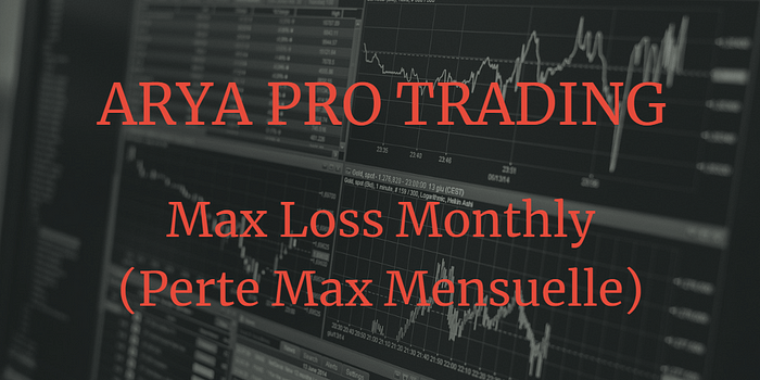 arya pro trading max loss monthly