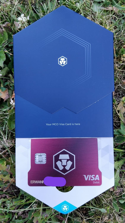 Ma première carte Visa fiat cryptomonnaies ! 1