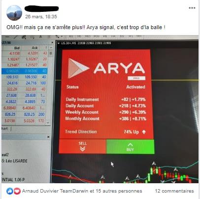 avis arya trading