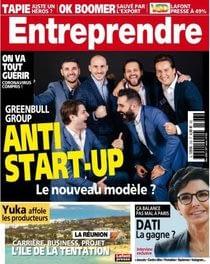 ARYA trading le groupe greenbull dans le magazine Entreprendre